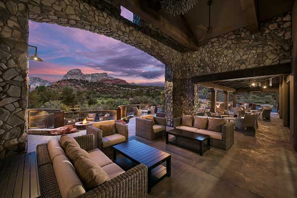 Patio Views at The Spot at Seven Canyons