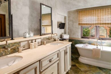 The Villas at Seven Canyons Ensuite Bathroom