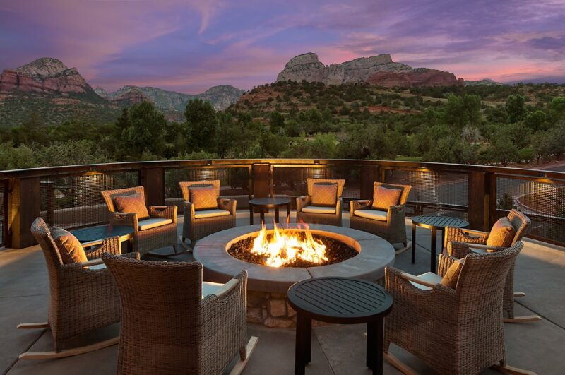 The Spot at Seven Canyons Fire Pit