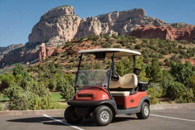Seven Canyons golf cart