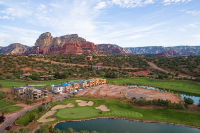 Seven Canyons Community Aerial