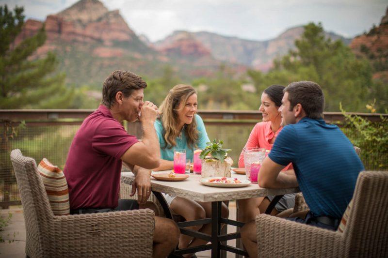 Dine at Seven Canyons Sedona