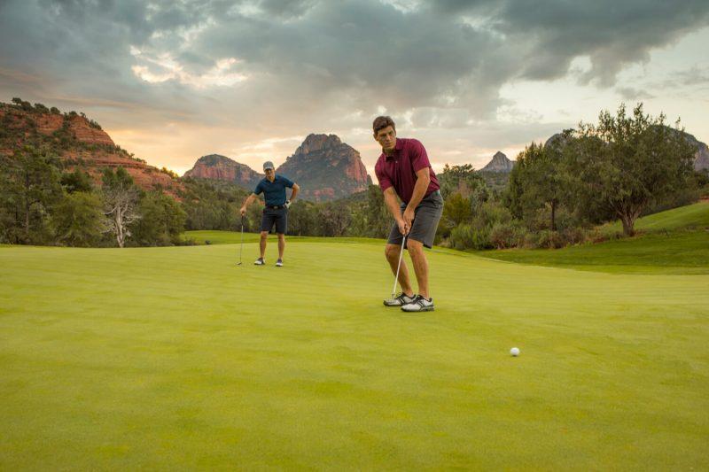 play golf at Seven Canyons Sedona